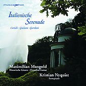 Italienische Serenade - Carulli, etc / Mangold, Nyquist