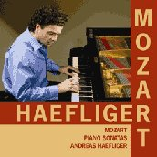 Mozart: Piano Sonatas Vol 1 / Andreas Haefliger