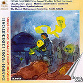Danish Piano Concertos Vol 2 -  Winding, Hartmann / Marshev