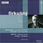 Schubert, Martinu, Mussorgsky, Chopin, Smetana / Rudolf Firkusny