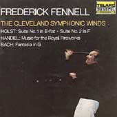 Holst, Handel, Bach / Fennell, Cleveland Symphonic Winds