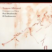 Albinoni: Oboe Concertos / Dombrecht, Il Fondamento