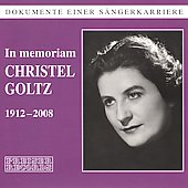 In Memoriam Christel Goltz