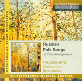 Russian Folk Songs in Choir Arrangements / Boris Abalian, The Lege Artis Chamber Choir