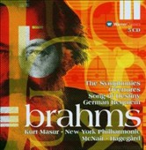 Brahms: The Symphonies; Overtures; Song Of Destiny; German Requiem