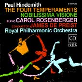 Hindemith: The Four Temperaments, etc / DePreist, Royal PO