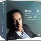 Bruckner: Symphonies Nos. 0-9; Symphony in f / Inbal