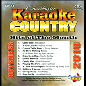 Karaoke: Chartbuster Karaoke: Country Hits Of The Month - November 2010