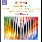 Busoni: Piano Music, Vol. 7