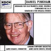 Pinkham: Symphonies 3 & 4, etc / Sedares, London SO