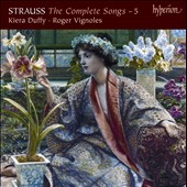 Strauss: The Complete Songs, Vol. 5 / Kiera Duffy, Roger Vignoles