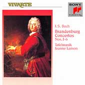 Bach: Six Brandenburg Concertos / Lamon, Tafelmusik