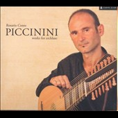 Alessandro Piccinini: Works for archlute / Rosario Conte, archlute