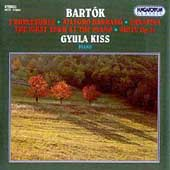 Bartók: 3 Burlesques, Allegro Barbaro, etc / Gyula Kiss