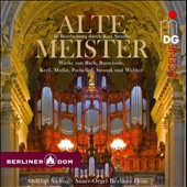 Alte Meister! - works for organ by Bach, Buxtehude, Keril, Muffat et al. / Andreas Sieling, organ