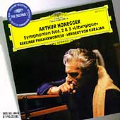Honegger: Symphonies no 2 & 3 / Karajan, Berlin Philharmonic