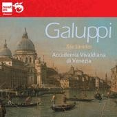 Galuppi: Trio Sonatas (6) for 2 violins & basso continuo / Stefano Zanchetta & Paolo Fasolo, violins