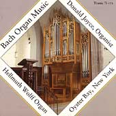 Bach: Organ Music / Donald Joyce