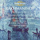 Rakhmaninov: Piano Concerto no 4, etc / Lill, Otaka, et al