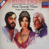 Puccini: Tosca / Rescigno, Freni, Pavarotti, Milnes