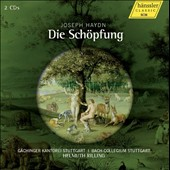 Haydn: The Creation / Juliane Banse, Ingebrog Danz, Michael Schade, Andreas Schmidt. Helmuth Rilling