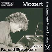 Mozart: The Complete Piano Sonatas Vol 3 / Ronald Brautigam