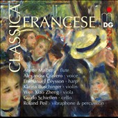 Classica Francese - Chansons and chamber works by Debussy, Cras & Jolivet / Anette Maiburg, flute; Alexandra Cravero, voice
