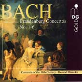Bach: Brandenburg Concertos nos. 1-6 /  Camerata of the 18th Century; Hünteler
