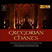 Gregorian Chants - a selection of chants grouped by periods of the church calendar / Moenchsschola der Erzabtei St. Ottilien [5 CDs]