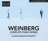 Mieczyslaw Weinberg: Complete Piano Works / Allison Brewster-Franzetti, piano