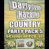 Karaoke: Party Tyme Karaoke: Country Party Pack, Vol. 5 [Box]
