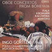 Oboe Concertos from Bohemia - Ingo Goritzki, Wojciech Rajski