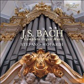 J.S. Bach: The Complete Organ Music / Stefano Molardi, organ [15 CDs]