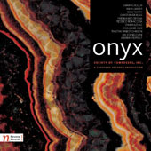 Onyx: Society of Composers, Inc., Vol. 29 - Music of Crouch, Zanter, Neikirk, Biggs, Desena, Bonacossa, Leung, Choi, Johnson, Chan, Pertout / various artists