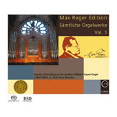 Max Reger (1873-1916): Complete Organ Works, Vol. 1 - Fantasie and Fugue on B-A-C-H; Introduction and Passacaglia in D minor; Symphonic Fantasy and Fugue; Organ Sonata No.2 / Martin Schmeding, organ