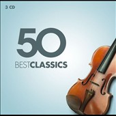 50 Best Classics - Various composers / Phillippe Jaroussky, Nikolaus Harnoncourt, Anne-Sophie Mutter, Simon Rattle, Claudio Abbado, Ammanuelle Haïm, Sir Neville Marriner and many more [3 CDs]