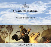 Mozart: String Quartet K.421; Dvorak: String Quartet, Op. 96 'America'; Ravel: Quartet in F major / Quartetto Italiano