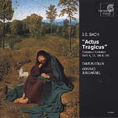 Bach: Actus Tragicus / Konrad J&uuml;nghanel, Cantus Colln, et al