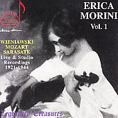 Legendary Treasures - Erica Morini Vol 1