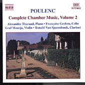 Poulenc: Complete Chamber Music Vol 2 / Tharaud, Mourja, etc