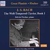 Great Pianists - Edwin Fischer - Bach: WTC Book 1