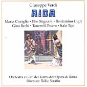 Verdi: Aida / Serafin, Tajo, Stignani, Caniglia, et al