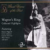 Great Voices of the Past-Wagner's Ring: Collected Highlights