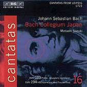 Bach: Cantatas Vol 16 / Suzuki, Nonoshita, Hida, et al