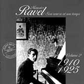 Maurice Ravel - Son oeuvre et son temps Vol 2 - 1910-1925