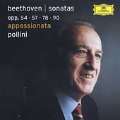 Beethoven: Sonatas Op 54, 57, 78, 90 / Maurizio Pollini