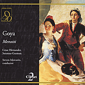 Menotti: Goya / Mercurio, Hernandez, et al