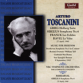 Music for Freedom - Grieg, Sibelius, et al / Toscanini