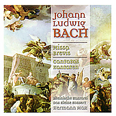 J.L. Bach: Missa Brevis, Kantatas / Hermann Max, et al