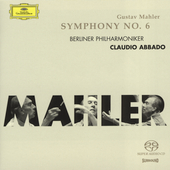 Mahler: Symphony no 6 / Abbado, Berlin PO